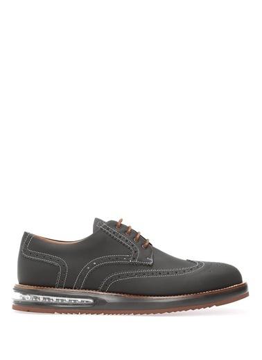 Barleycorn %100 Deri Oxford Ayakkabı Siyah